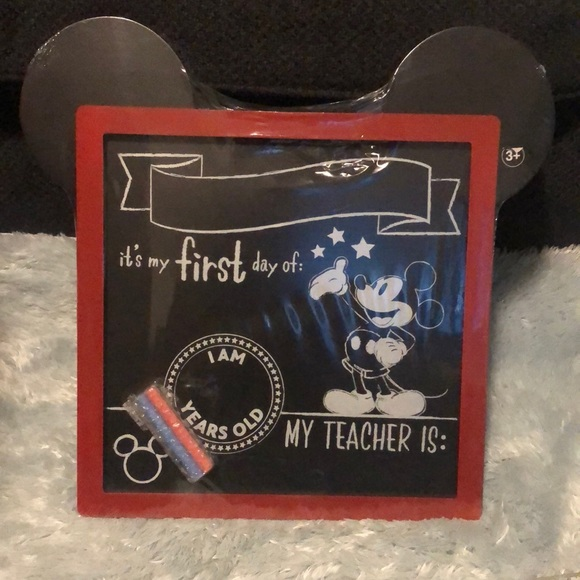 Disney back to school sign